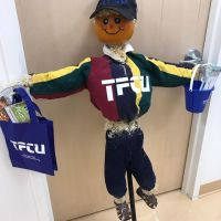 Teachers Federal Credit Union's Scarecrow